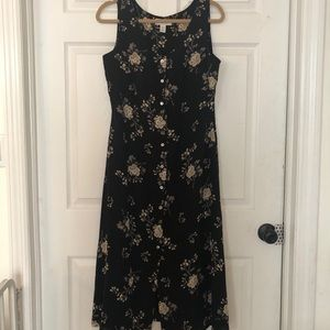 Gorgeous vintage silk lord & Taylor dress